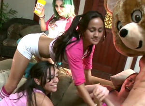 My maiden step-sister  strippers..