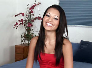 Little Backside Eighteen year old Dame..