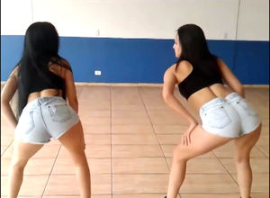 Latin teenagers showcase ass dirty..