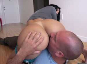 Dark phat butt hook-up lesson