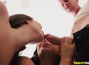 Bridgette B jugs torn up when Karlee..