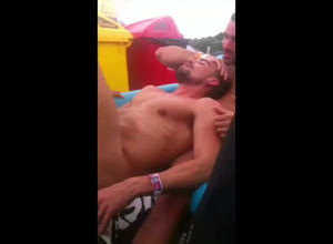 Wild gay anal fucking in the summer..