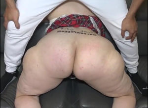 Phat big bootie daddys mega-bitch with..