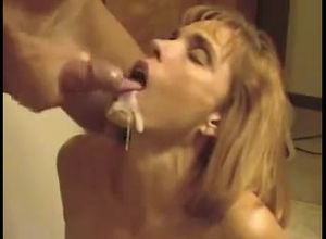 Big-titted mommy gets face torn up to..