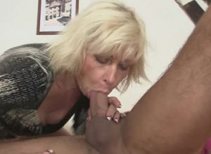 Husband cuckold with whorey ash-blonde..