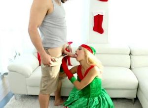 Astounding snow youngster rails his..