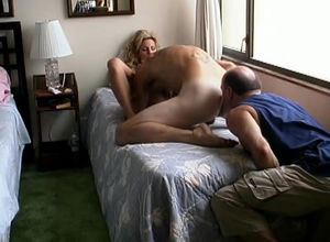 Bizarre hotwife rims a-hole as fellow..