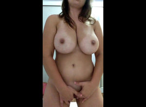 All-natural meaty tits, rhythmically..