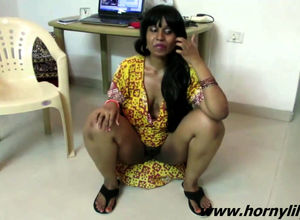 Indian chick Bhabhi conversing sans..